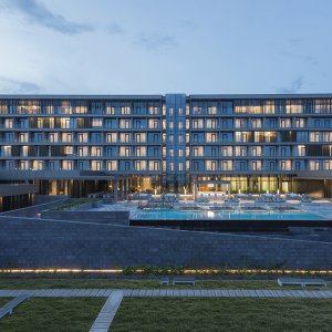 Completed Buildings | Hotel and Leisure Finalist | Kintele Congress Hotel, Brazzaville, Republic of Congo, Avcı Architects © Emre Dörter