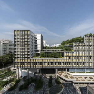 Completed Buildings | Mixed Use & World Building of the Year | Kampung Admiralty, Singapore, WOHA © Darren Soh